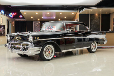 1957 Chevrolet Bel Air/150/210  Gorgeous, Fully Restored Bel-Air! 327ci V8, 3-Speed Manual, Hardtop, Onyx Black!