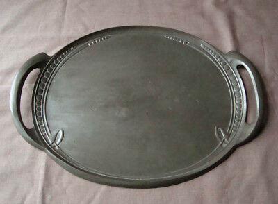 Liberty & Co Pewter Arts Crafts Serving Tray Archibald Knox Tudric