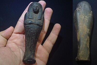 ANCIENT EGYPTIAN ANTIQUE Nesi Ushabti Shabty Shawabti Shabti 1075-945 BCE