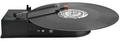 Portable Vinyl Record Player Mini Size USB Turntable LP Music MP3 CD Converter