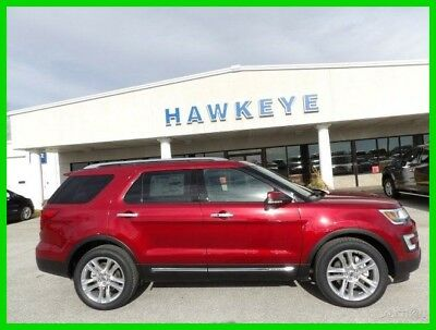 2017 Ford Explorer Limited 2017 Limited New 3.5L V6 24V Automatic 4WD SUV Premium