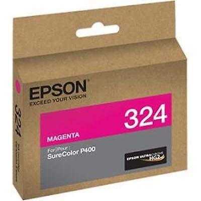 Epson T324320 (324) UltraChrome HG2 Ink, Magenta