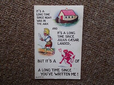 1913 Donald Mcgill Saucy -Funny-Seaside Postcard-Used & Stamp -1913