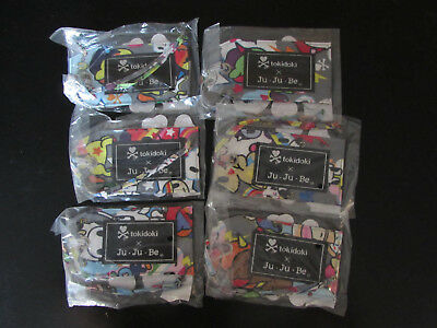 Jujube Ju Ju Be Tokidoki Unikiki Be Tagged Set of 6 NWT (A)