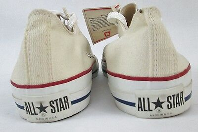 Vintage 70s Converse Mens 12.5 NOS Chuck Taylor All Star USA NEW Box White Label