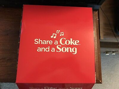 Share A Coke And A Song - Coca-Cola - Eminem & Sheryl Crow Promo Box (2 Bottles)