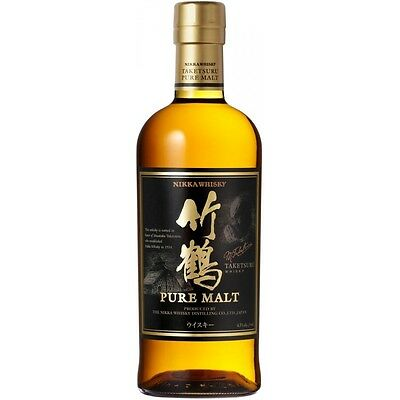 Nikka Taketsuru Pure malt Japanese Single Malt Whisky 6 x 700ml