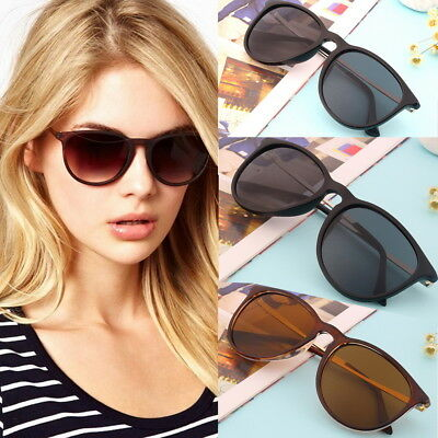 Unisex Womens Mens Retro Vintage Cat Eye Round Glasses Fashion Sunglasses AU