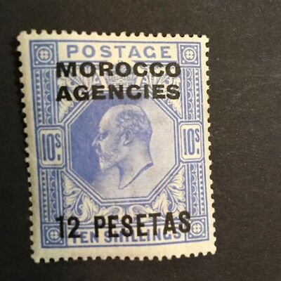 Morocco Agencies 1907 SG 113 Scott 45 MH Mint Hinged MM SCV $85