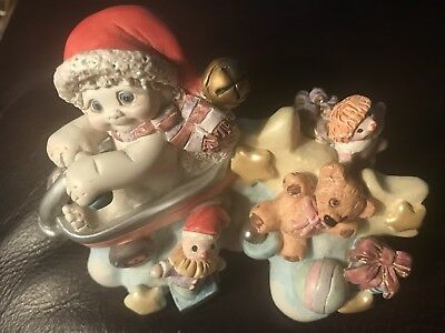 Vintage Kristin Dreamsicles 2000 Fun for all.  17 years old Figurine. Mint