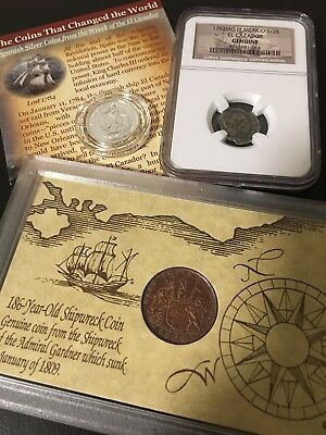 Collection of Coins from *3 DIFFERENT SHIPWRECKS* Gairsoppa, El Cazador, Admiral