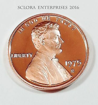 1975 S Lincoln Memorial *proof* Cent / Penny  **free Shipping**
