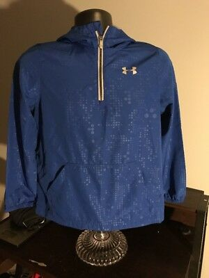 Under Armor Storm,Boys Light Weight Hooded Pullover Jacket, Large