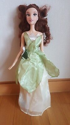 Disney Tiana 16 inch singing doll dress Princess and the Frog