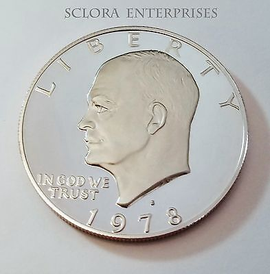 1978 S Eisenhower *proof* Dollar Coin  **free Shipping**