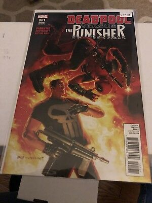 Deadpool vs Punisher Issue # 1 Greg   HILDEBRANT Variant NM