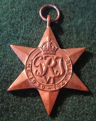 WWII 1939-45 Star named