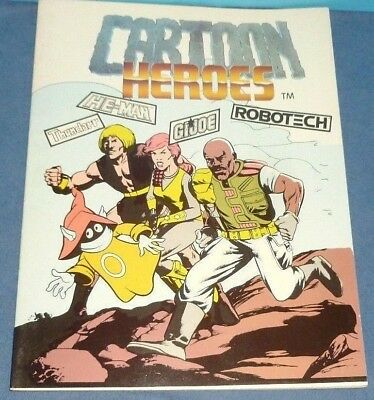 Cartoon Heroes Art Fanzine - He-Man, Thundarr, G.I. JOE, Robotech  Vintage 1986