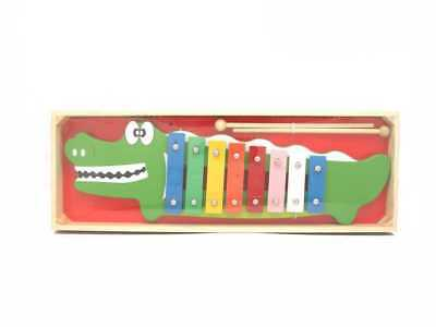 NEW Kaper Kidz Crocodile Metal Xylophone with Box from Baby Barn Discounts
