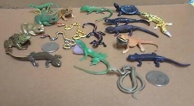 18 Kaiyodo ChocoQ Animatales lizards, snakes, frogs, salamaders bearded dragon