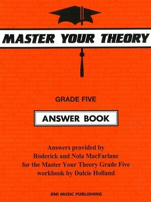 Master Your Theory Grade Five Answer Book - Music Theory Book