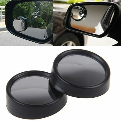 Round Auxiliary Blind Spot Convex Rear View Angle Mirrors For Car SUV Motorcyle