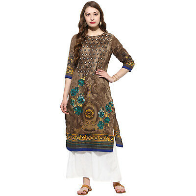 Indian Bollywood Kurta Kurti New Style Ethnic Dress Top Good Quality From Lagi