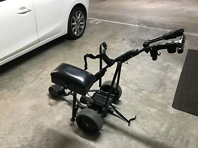 Motorised Golf Buggy - Used But Well Looked After. Battery and  Charger Included