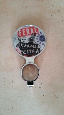RARE feral brewing india black ale-Karma Citra tap top beer decal