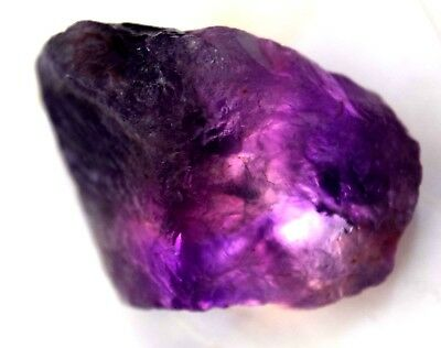 137.00 Ct Natural Purple African Amethyst Untreated FACET Specimen Rough