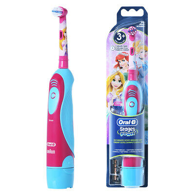 BRAUN ORAL-B DB4510K Princess Stages Power Disney Toothbrush / GENUINE