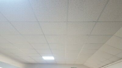 suspended ceiling 600x600 white  over 100m2