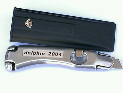 Dolphin Knife Delphin 2004 Professional Carpet Fitters Tool & Branded Holster