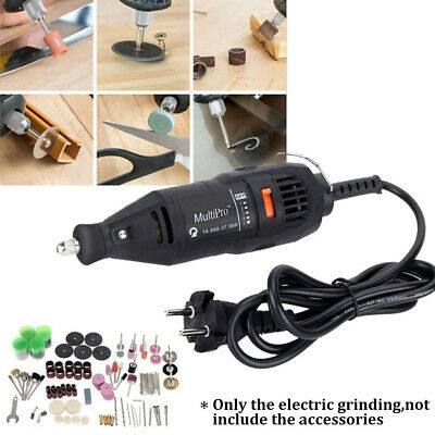Electric Mini Grinding Set Multi Function Grinder Machine Carving Drill Tool Kit