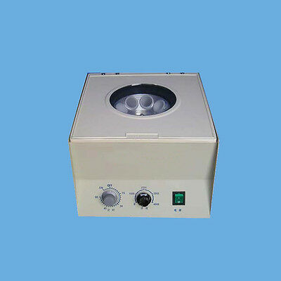 110V/220V  Quality Electric Desktop Centrifuge Lab Medical Practice Timer New