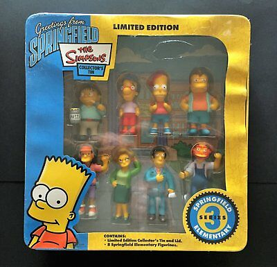* The Simpsons Limited Edition Collectors Tin - SERIES 3 Springfield Elementary