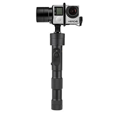 Auto Handheld Selfie Mount for GoPro, 3 Axis Gimbal, Bluetooth, App Support