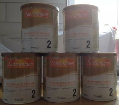 Nutramigen 2 With Lgg, 5 Cans Brand New