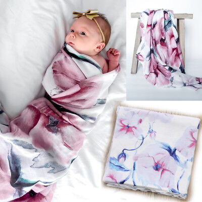New Baby Infant Receiving Swaddling Hospital Blankets Large 31''x32''#