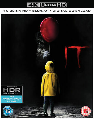 IT [4k Ultra HD + Blu-ray + Digital Download] [2017] (4K Ultra HD)