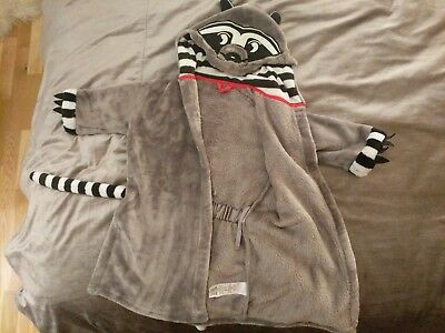 toddler dressing gown M&S raccoon for 2-3 years