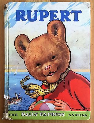 RUPERT ORIGINAL ANNUAL 1959 Inscribed and Price Clipped Good Only