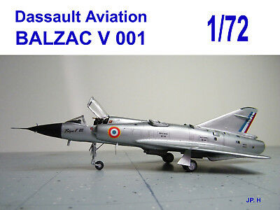 Dassault Aviation BALZAC V 001 - 1/72 scale - resin