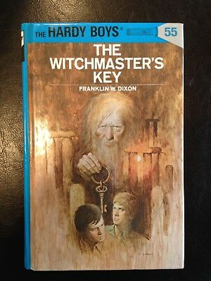 Hardy Boys Book: The Witchmaster's Key ~ #55 ~Franklin W. Dixon ~ Hardcover