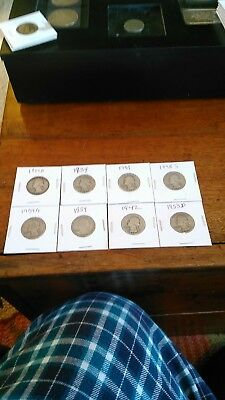 early silver quarters