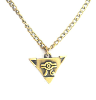 Anime Yu-Gi-Oh! Millennium Puzzle Pendant Necklace Chain Cosplay