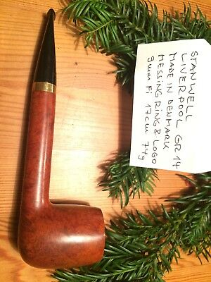 Pfeife,pipa,pipe STANWELL Liverpool GR 14 , 9mm Fi., Made in Denmark