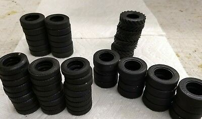 Large set of Various Hess Tires, 57 in All