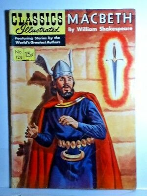 Classics Illustrated 1955 MACBETH by William Shakespeare  Nice book !