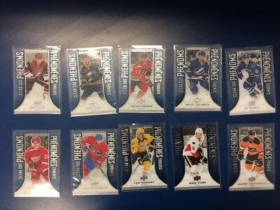 2016-17 Tim Hortons Ud Clear Cut Phenoms Lot **U Pick A Card To Complete Set**